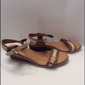 DR. SCHOLL'S GLENDALE WEDGE SANDALS SIZE 11M